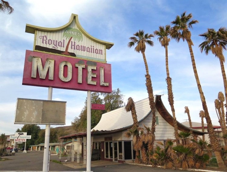 The 43 room motel