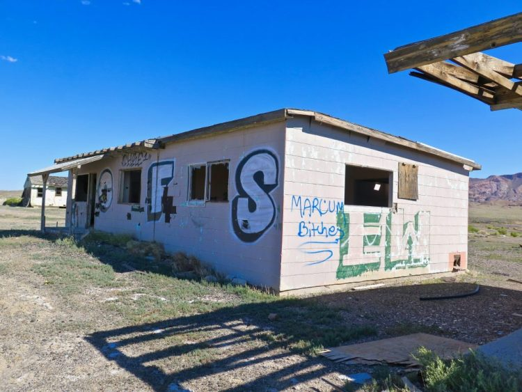 Located 30 miles west of Tonopah NV, about a mile before the junction of where Highway 95 and Route 6 intersect, the small population of Coaldale subsisted over the next 46 years on the proceeds of the remaining businesses that provided roadside services to passing motorists.