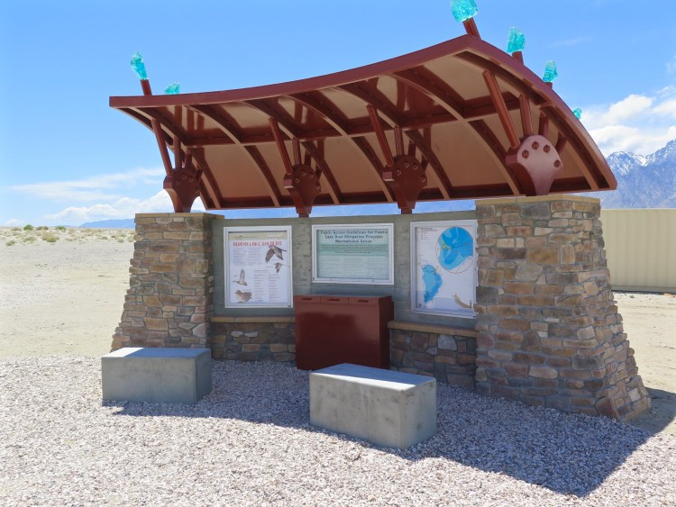 The Owens Lake Trails project was designed in partnership with LADWP, community stakeholders and other interested parties, including California State Lands Commission, Great Basin Unified Air Pollution Control District, the Paiute-Shoshone Tribes, and the Eastern Sierra Audubon Society.