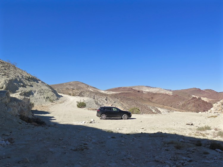 While the dirt roads leading to the mine don't necessarily require 4WD