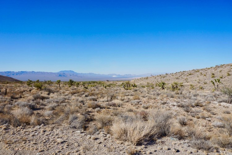 The 40-acre Site is situated on patented private land within the Mojave National Preserve on the western slope of the New York Mountains located on the eastern edge of the Ivanpah Valley.