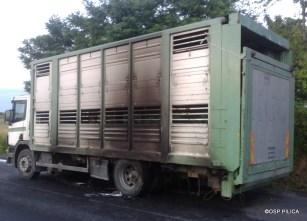 Pożar samochodu ciężarowego - 14.07.2015r (4)