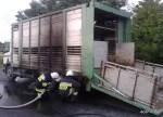 Pożar samochodu ciężarowego - 14.07.2015r (6)