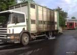 Pożar samochodu ciężarowego - 14.07.2015r