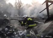 Pożar hali w Ogrodzieńcu (9)