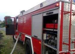 Pożar traw na Smoleniu - 09.08