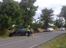 Wypadek drogowy na DW 794 - 22.08 (12)