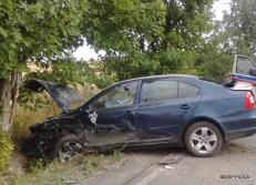 Wypadek drogowy na DW 794 - 22.08 (7)