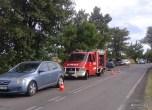 Wypadek drogowy na DW 794 - 22.08 (8)