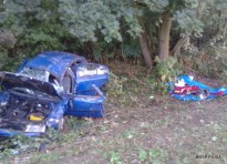 Wypadek drogowy w Udorzu - 25.08 (7)