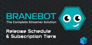 BraneBot Release Schedule Subscription Tiers