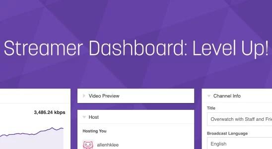 Twitch Streamer Dashboard