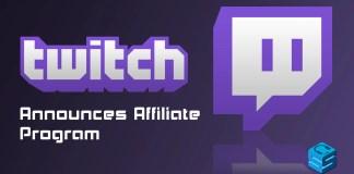 Twitch Announces Affiliate Program