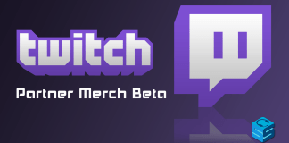 Twitch Partner Merch Beta