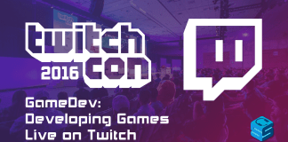 Gamedev developing games live on Twitch TwitchCon 2016