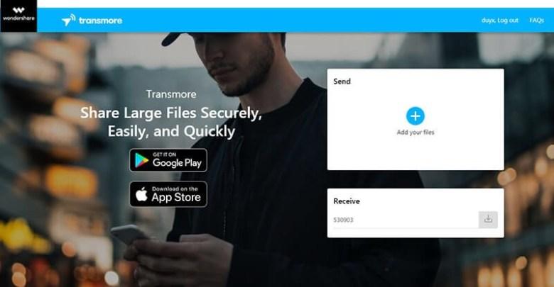 Partagez vos fichiers de manière rapide, facile et sécurisée avec Transmore 1
