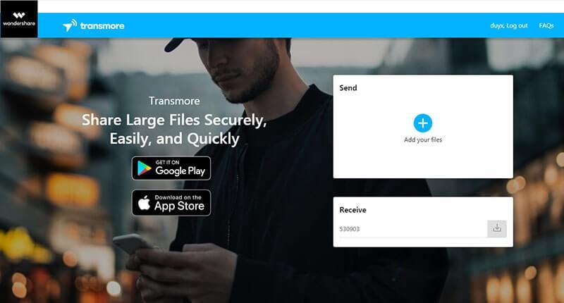 Partagez vos fichiers de manière rapide, facile et sécurisée avec Transmore 2