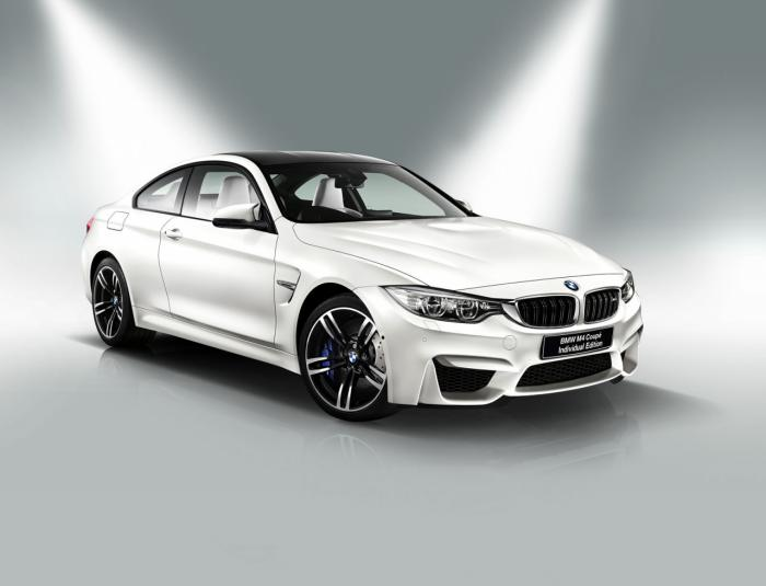 soi mau bmw m4 coupe m performance edition va m4 coupe individual edition hinh anh 1