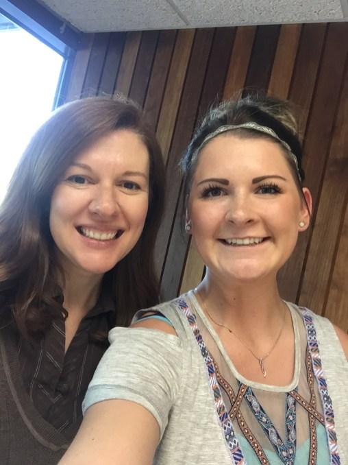 Dr. Martha Shulski and Cassandra Huck