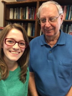Shelby Andersen and Dr. Wes Peterson