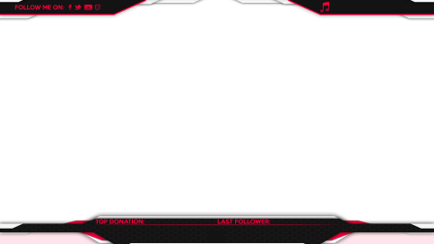 stream csgo overlay red