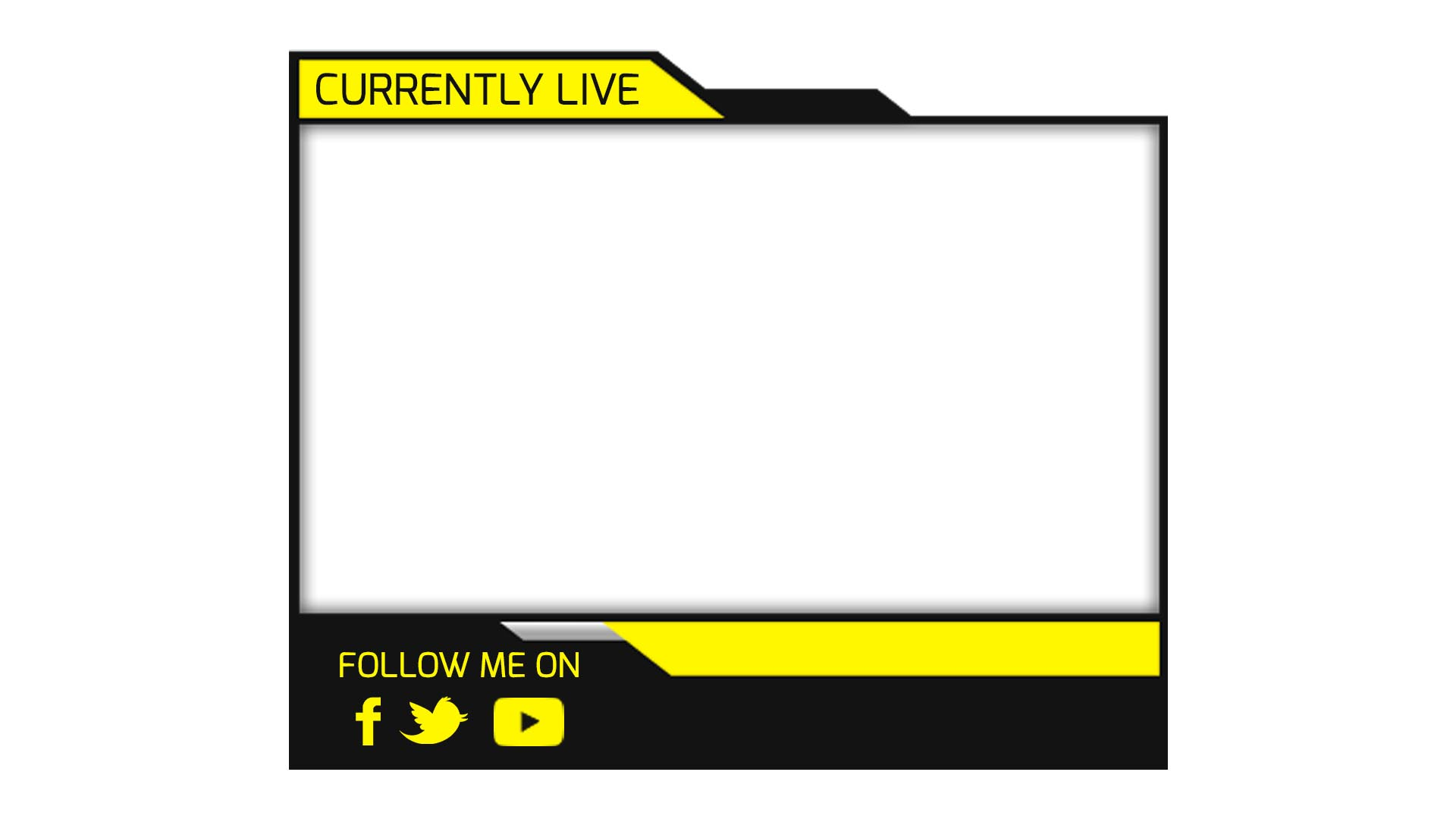 yellow facecam streaming