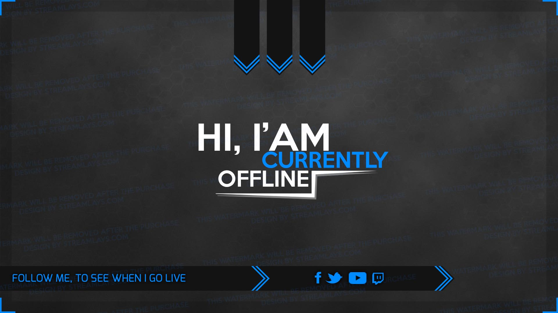 template offline screen