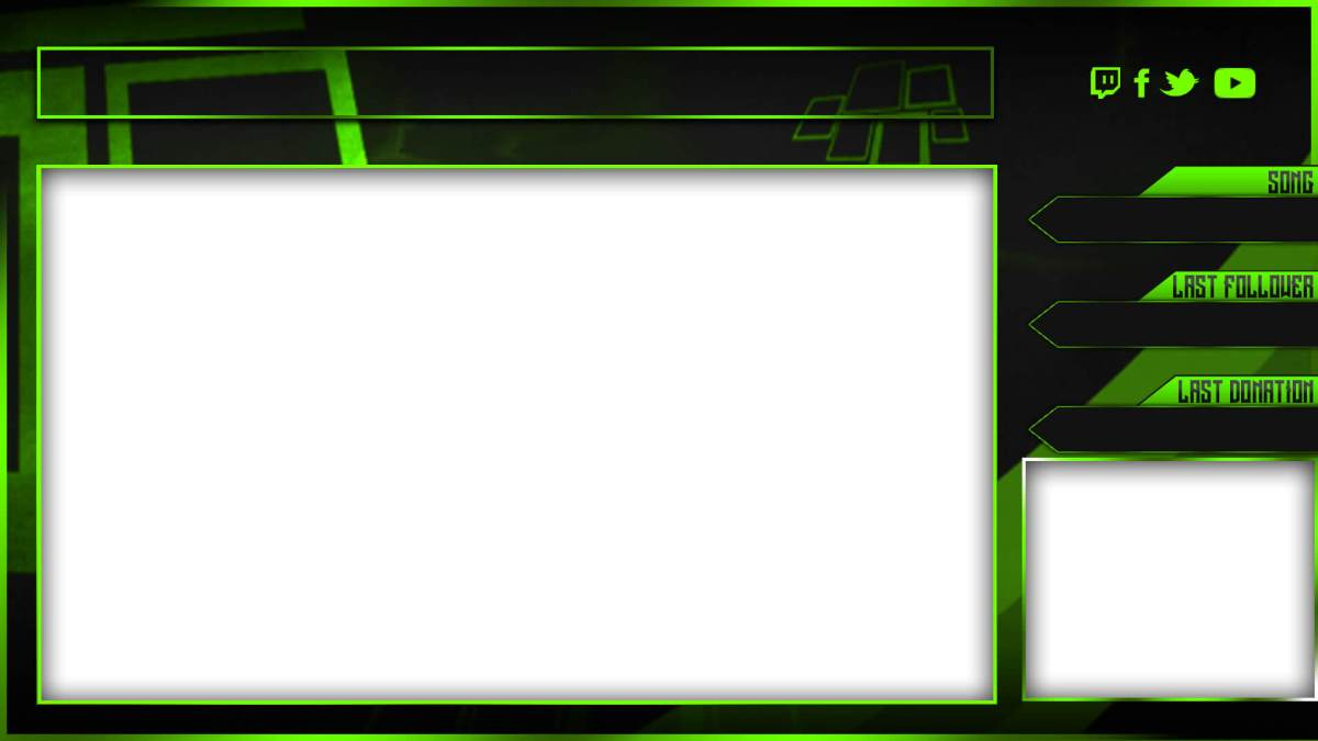 new green twitch overlay