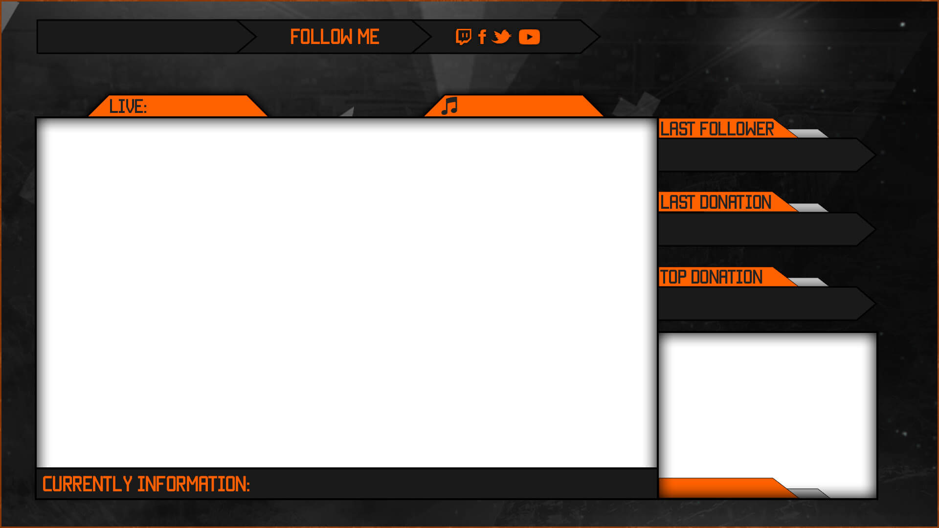 Free Streaming Template Designs