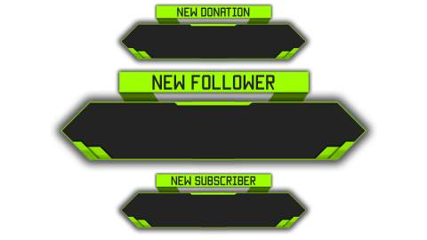 twitchalert green template