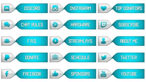 blue twitch panels