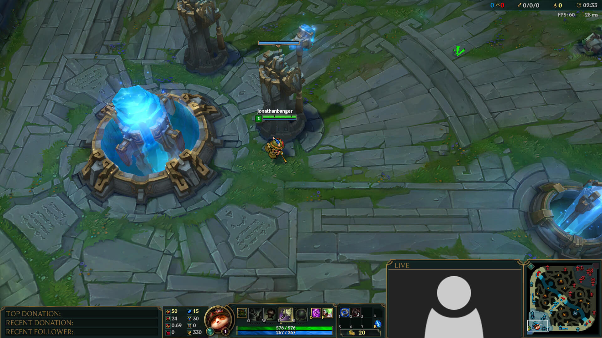 twitch overlay for lol