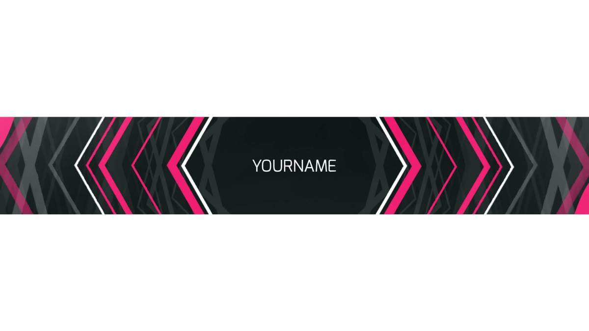 banner youtube template