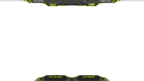 Turnon Twitch Overlay Yellow