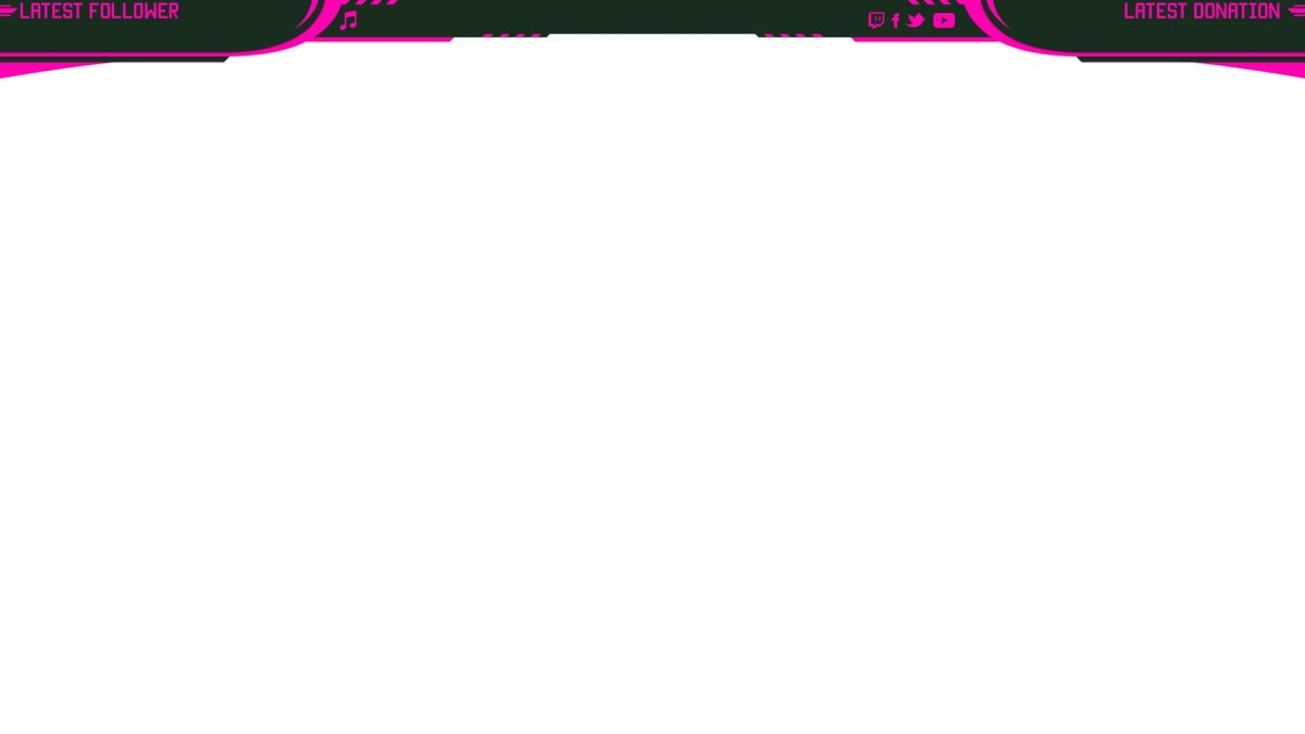 pink streaming overlay for gta
