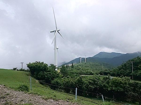 大河原高原 風車1