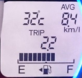大河原高原 下界温度