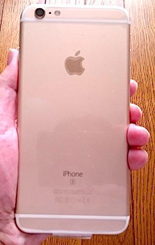 iPhone 6s Plus 裏