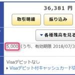 ジャパンネット銀行の投信積立キャンペーンで5,000円獲得
