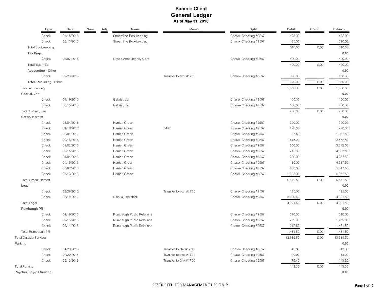General Ledger Sample Client 05 16 Page 09
