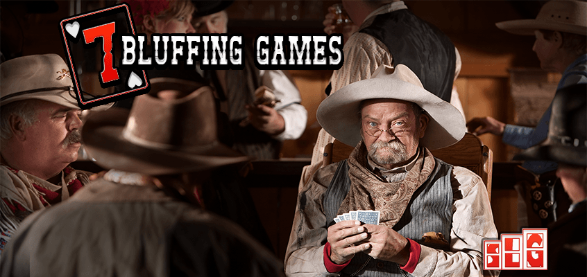 7 Must Play Bluffing Card Games