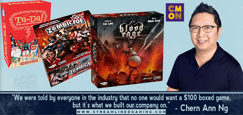 Ep. 08: Chern Ann Ng – Pioneer of the Premium Board Game Category