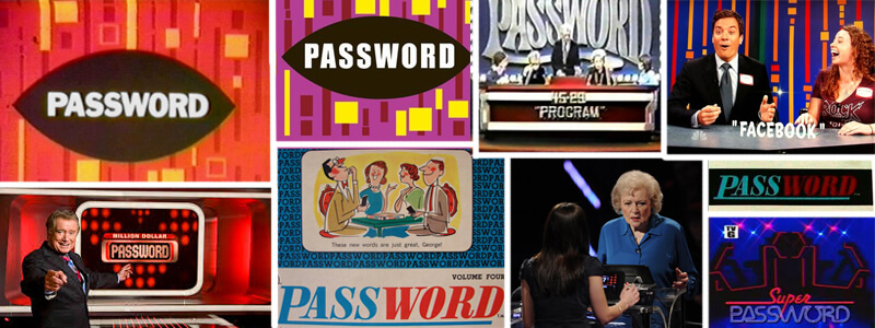 Games Like Password TV Game Show Board Games