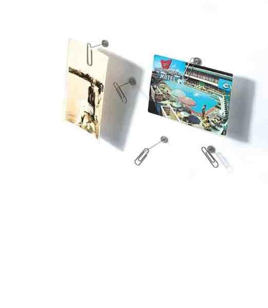Umbra push pin paper clip photo display set