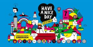 Have a Nice Day Festival Flyer
