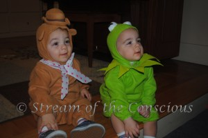 2011 – The Muppets! (Fozzie Bear and Kermit)