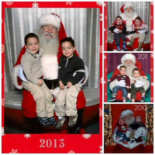 Santa Collage_Age 3