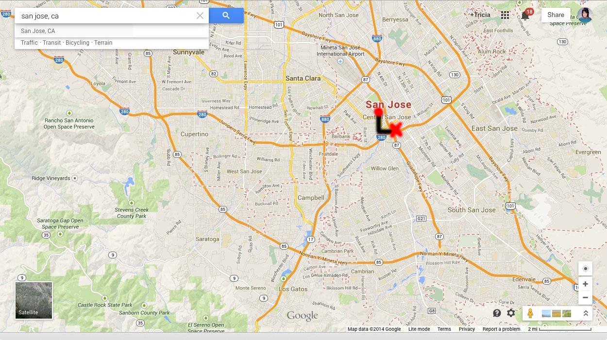 280 Traffic San Jose
