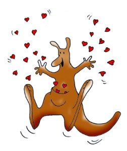 valentine-clipart-kangaroo-with-hearts