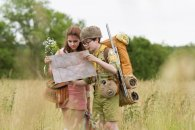 Kara Hayward and Jared Gilman in Wes Anderson's 'Moonrise Kingdom,' starring Bill Murray, Frances McDormand, Edward Norton, Bruce Willis, and more